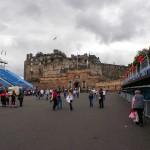 Zamek w Edynburgu